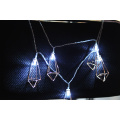 String Longo Diamante 10 LED