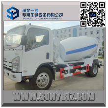 Isuzu Mixer Truck 700p 4 M3 Small Concrete Mixer Truck