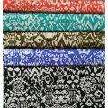 Black Printing Fabric for Sportswear (HD1401103)