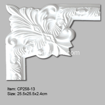 Polyuretan Crown Panel Moulding Corner