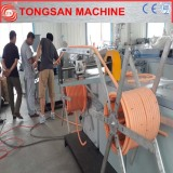 PP/PE/PVC/PA single-wall corrugated pipe extrusion machinery