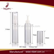 2015 botella de crema especial de ojos de plástico sin aire