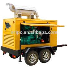 Известный производитель мобильных генераторов Shangchai