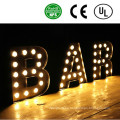 OEM Design LED Large Letters Signs, Illuminated Acrylic Channel Letter Sign
