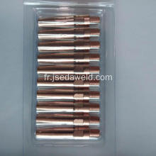 Embout de contact M6 * 45 * 1.0mm CuCrZr