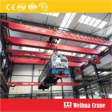 Pont roulant pour la maintenance des trains