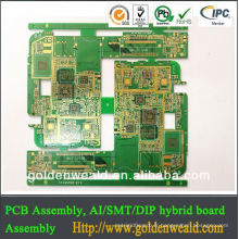 Carte électronique de carte PCB de machine à laver de carte PCB d'or d'immersion de 4 couches