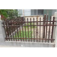 20 Years Warranty Powder Coating Decorative Steel Fence