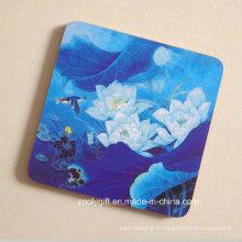 Peinture Impression en bois Coaster Coaster / Promotionnel Square Shape Cork Placemat