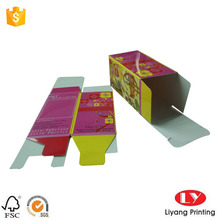 Paper packaging gift box full color