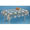 Tabletable claro de PVC, cubierta de tabla impresa, material del PVC y forma cuadrada