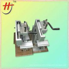 SYC-100M machine à imprimer à stylo à bille manuelle moins chère avec une taille de plaque de métal maxi: 100x100mm