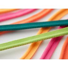 Colorful Cord Polyester Piping Tape For Garment
