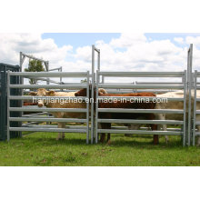 Padrão australiano 1.8 X 2.1m Galvanized Cattle Panel China Supplier