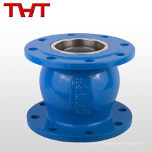 Globe type pompe à eau silencieuse graisse plate non-standard clapet anti-retour