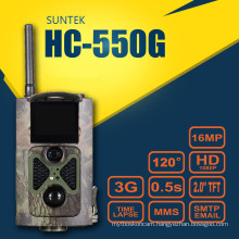 12MP FHD MMS GPRS SMS Control 3G Hunting Wildlife Traphy Camera Timelapse SunTek HC550G Supporting WCDMA Network