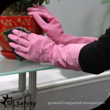 SRSAFETY spray latex waterproof cleaning gloves