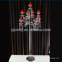 Wholesale wedding tall table decoration crystal votive glass candle holder