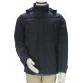 Chaqueta de invierno con capucha y cuello entallado de estilo personalizado para hombres