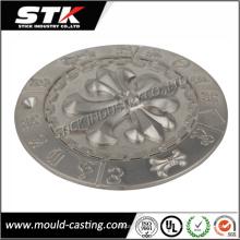 Kundenspezifische Zink-Legierung Druckguss für Logo-Platte (STK-ZDO0008)