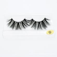 Wholesale 3D 5D 25mm 100% Real Siberian Mink Eyelashes Private Label Eyelashes Mink Fur Eyelashes