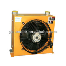 12v/24v DC hydraulic oil cooler with fan