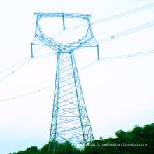 220kv Circuit linéaire Circuit unique Transmission de fer Tour de fer