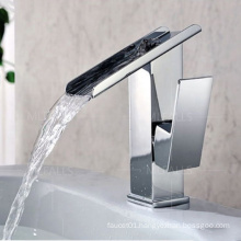Hot sale luxury washbasin taps chrome single handle bathroom washroom basin faucet