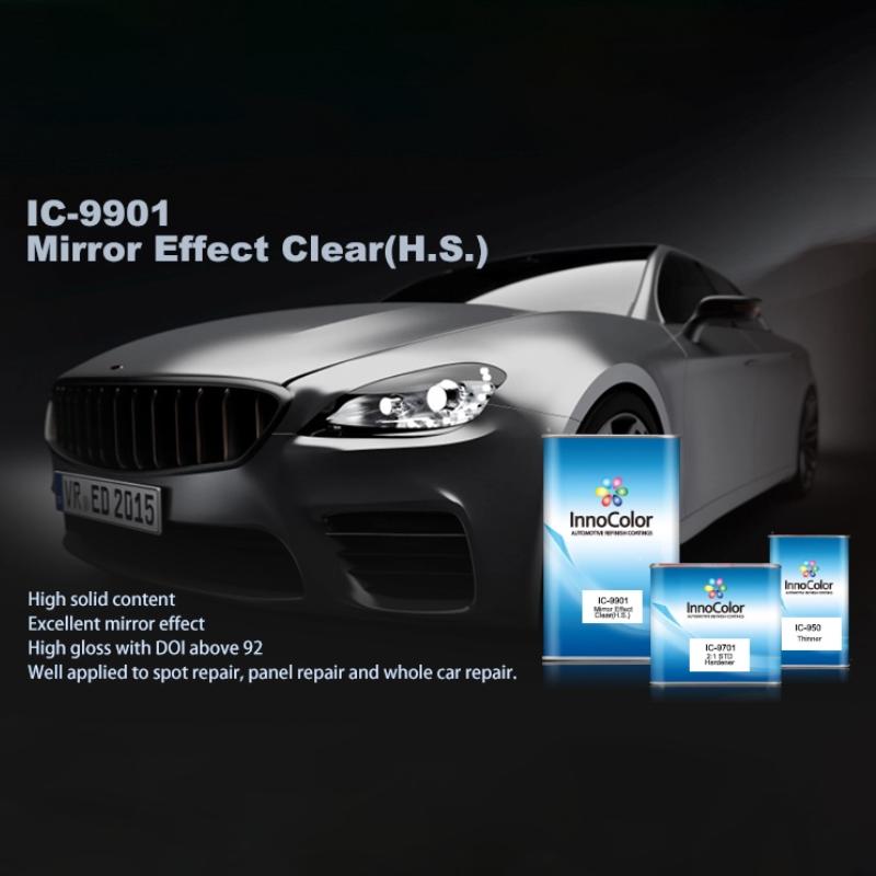 Ic 9901 Mirror Clear Coat