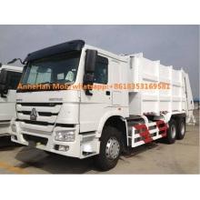 Sinotruk Howo 6x4 compressed garbage truck 15m3