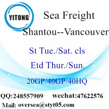 Shenzhen à Vancouver Canada DDP
