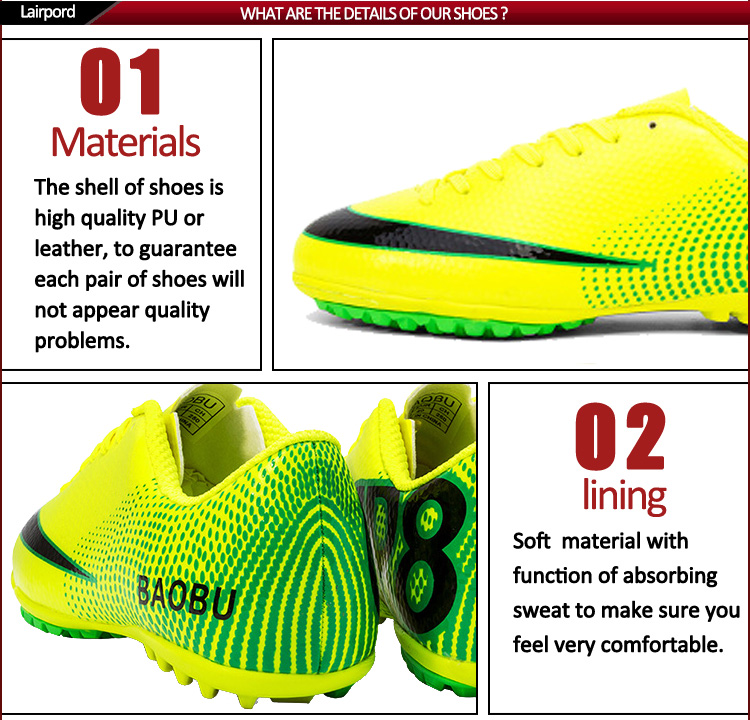 soccer shoes wholesale