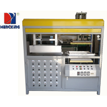 Blister vacuum formed plastic machine