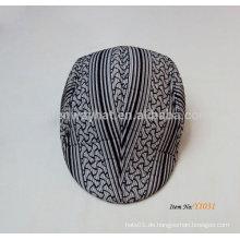 Fernlastfahrer flache Kappen kurzer Rand Kappe Efeu Hut