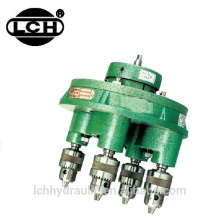 industrial machinery equipment of hydraulic tapping machine with iron steel multis pindle