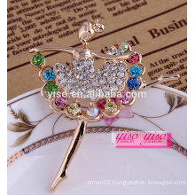 fashion lovely colored artist fashion brooch