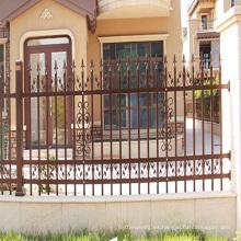 el panel decorativo de la cerca de aluminio arrugó los paneles de la cerca del metal flecha