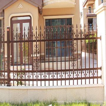 декоративные алюминиевые панели манеж забор изготовление кованые