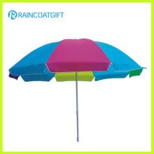 Paraguas de playa promocional del parasol del PVC