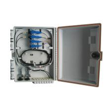 6 puertos de fibra óptica FTTH caja de distribución de terminales