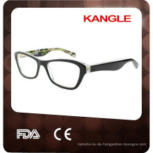 2017 hochwertige Lady Acetat Brillen, neue Form Acetat Optik Rahmen