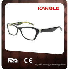 2017 High quality Lady acetate eyeglasses, new shape acetate optic frames