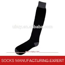 Sólidos largos calcetines de lana de esquí (UBUY-071)