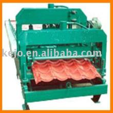 Máquina de formação de rolo frio para azulejos de aço colorido
