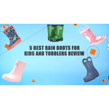 Brand name Silicone rubber waterproof rain white boots for children wholesale Anti-Slip shoes Cover,baby rain shoes for kids