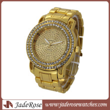 Reloj de pulsera para hombre Gold Fashion Watch (RB3212)