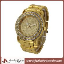 Relógio de pulso de homens de relógio de moda de ouro (RB3212)