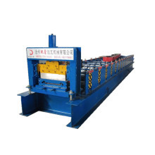 Aluminum siding panel wall roll forming machine