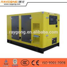Generador diesel silencioso diesel del generador 100kva conjunto de consumo de combustible