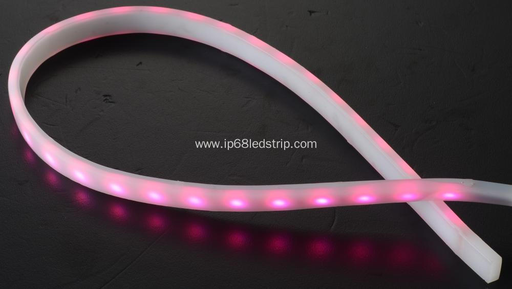 All In One SMD5050 60leds RGB Milky led strip light